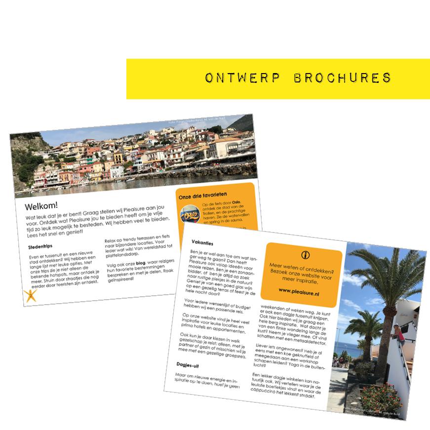 Portfolio Ontwerp brochures