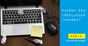 waarom een freelancer