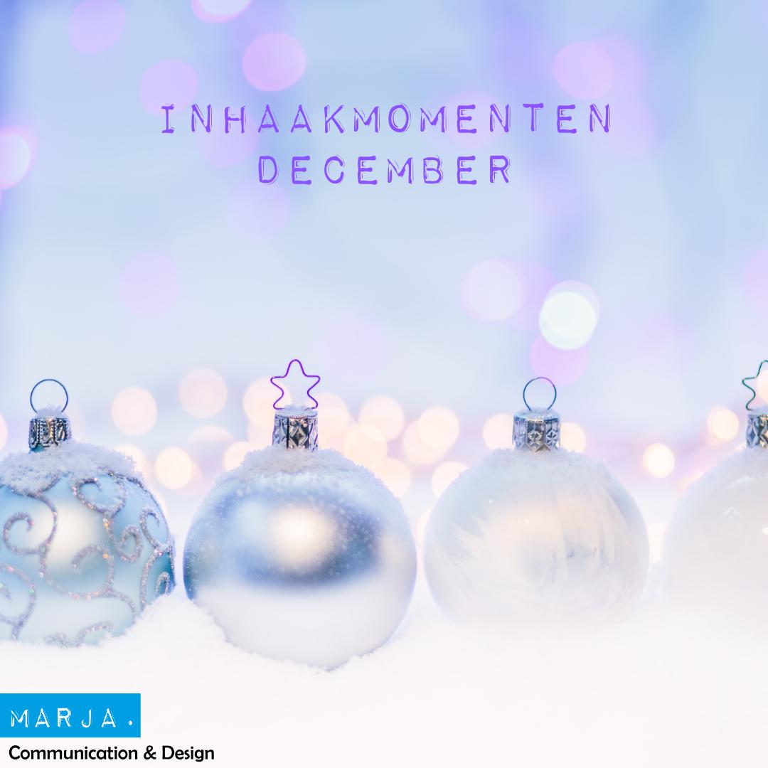 inhaakmomenten december
